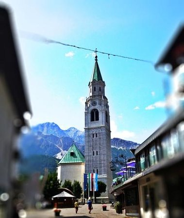 Hotel Cortina: view from the terrace
