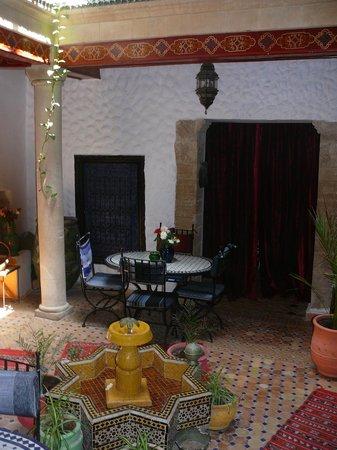 Riad Casa Blanca : Reception and breakfast place