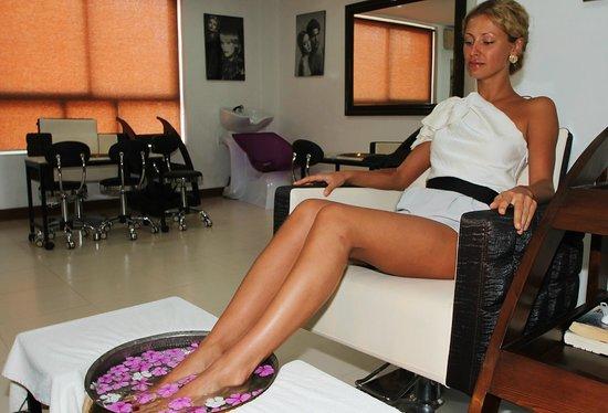 Pride Sun Village Resort and Spa: Pedicure Treatment