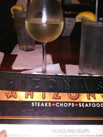 Arizona's At Stonecrest: wine was excellent