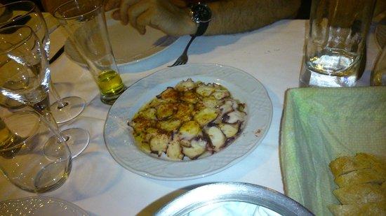 Restaurante El Pinar: pulpo