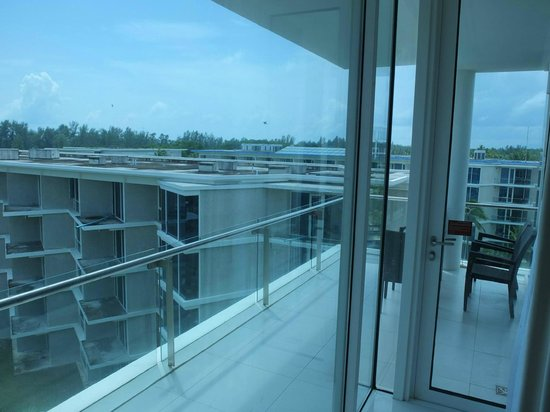 Grand West Sands Resort & Villas Phuket: balcony and view
