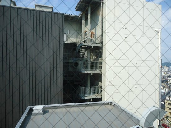 Daiwa Roynet Hotel Kanazawa : 部屋からの眺め