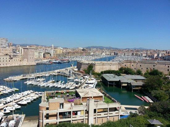Sofitel Marseille Vieux-Port : Aussicht vom Zimmer
