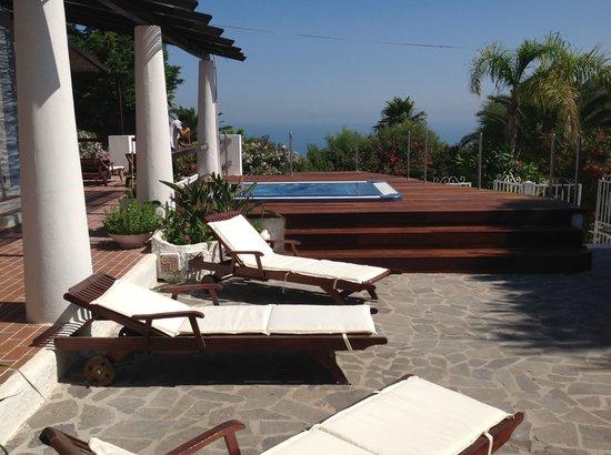 B&B Isola di Ponza: jacuzzi