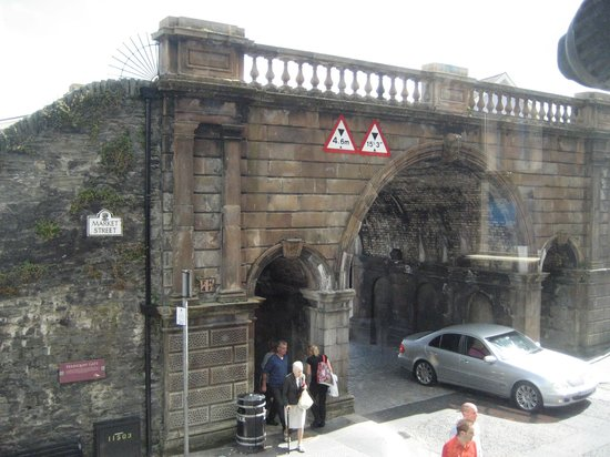 Ferryquay Gate: Taken from upstairs in Anchor!!