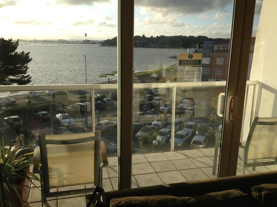 Sandbanks Hotel: View from room