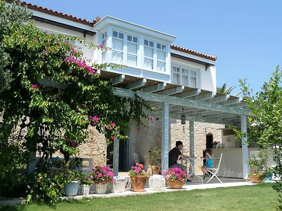 Arka bahce picture of alura boutique hotel alacati for Design boutique hotel alacati