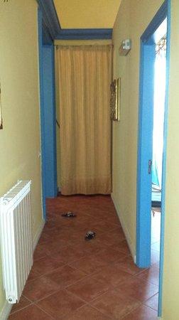 Palazzo Maria: Corridoio dell'appartamento Ruggero