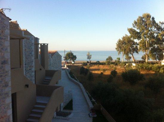 Thirides Beach Resort: Room view 1