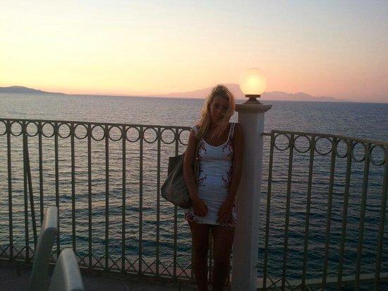 Pelouzo Hotel: tramonto