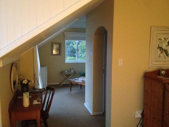 Greenfire Knysna Lodge: upstairs room