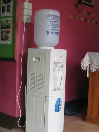 Baan Bua Homestay: water dispenser