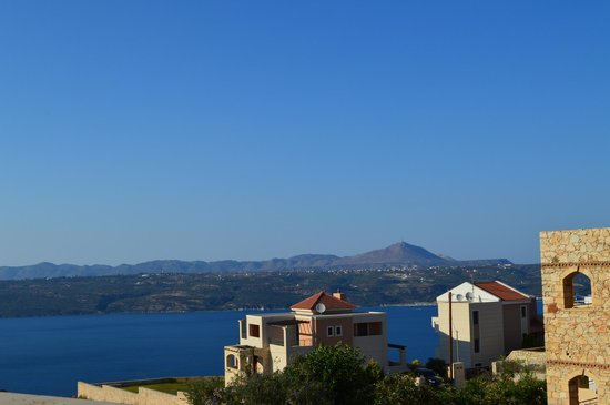 Hotel Areti Megala Horafia : view from our porch