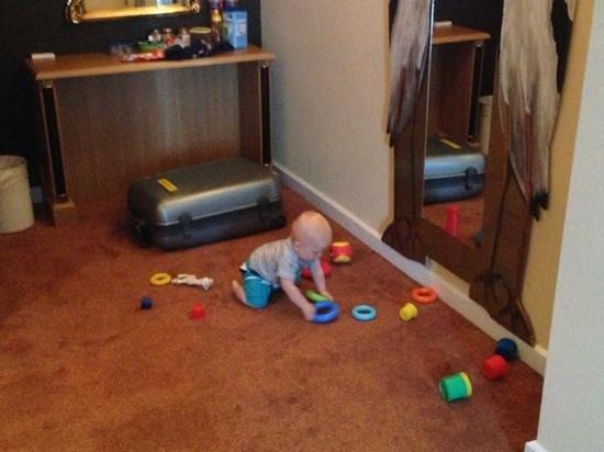 Van der Valk Hotel Hardegarijp : speelruimte genoeg voor babies