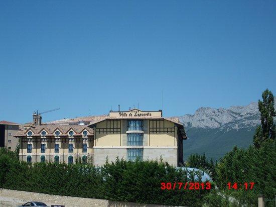 Sercotel Villa de Laguardia Hotel: vue de l'hôtel