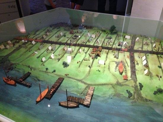 Ribe Vikinge Center: A recreation of the trading center