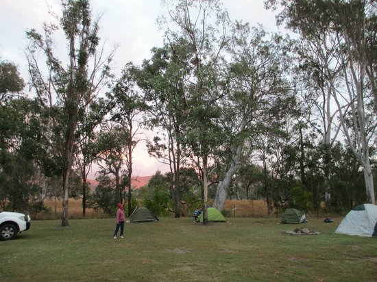 Big4 Cania Gorge Holiday Park: tent site