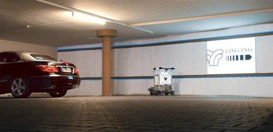 Thermalresort Köck: Tiefgaragen Zugang