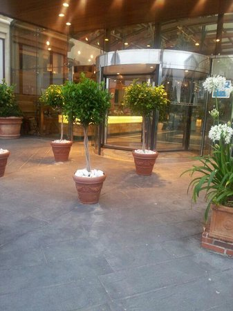 Gran Hotel Liber & Spa: Entrada al hotel