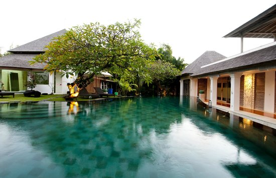 Escape Haven Bali: Large infinity pool