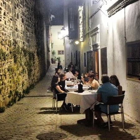 Mandragora: La terraza del Mandrágora