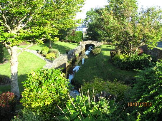 Bridgeburn House : une partie du jardin