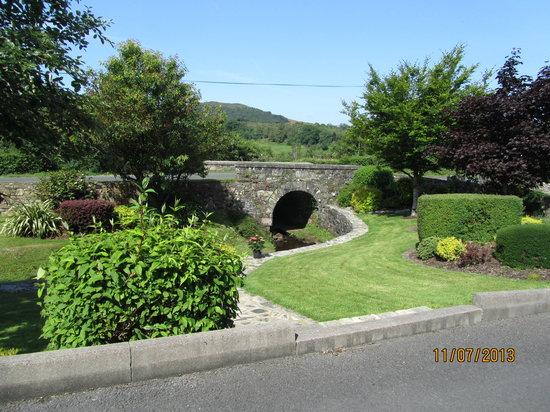 Bridgeburn House : autre vue du jardin