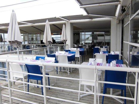 Belambra Clubs - Les Rives de Thau : Terrasse salle de restaurant
