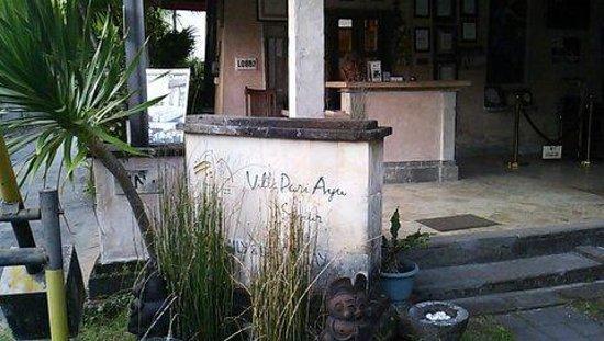 Villa Puri Ayu: エントランス