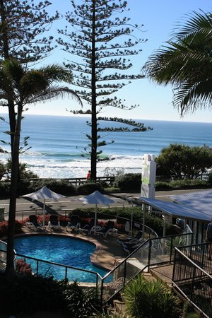 The Beach Retreat Coolum: View from Studio Apartment