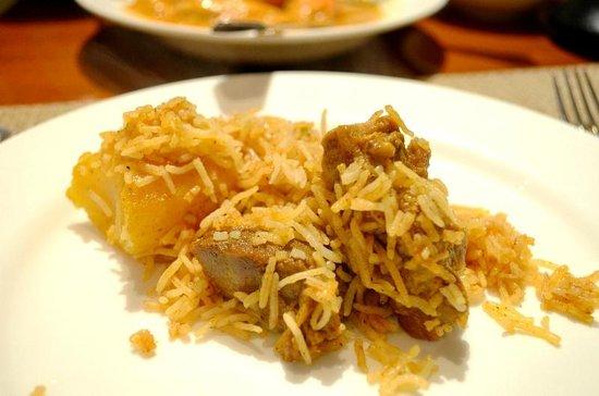 Oh! Calcutta : fragrant lamb briyani