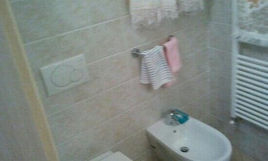 La Baia di Fiascherino : i bagno sono tutti nuovi
