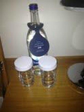 Hilton Watford: Bottle of warm water - only £3:95!