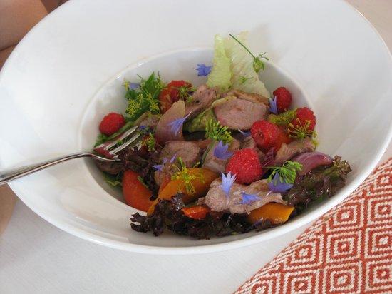 Kohvik Fellin: A duck salad