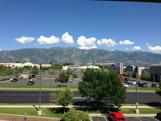 Courtyard by Marriott Salt Lake City Layton: From the balcony