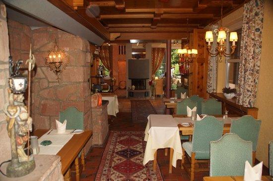 Hotel-Restaurant Felsentor: Innenansicht Restaurant