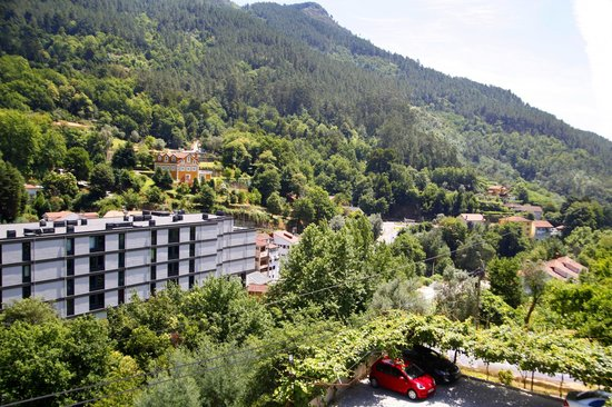 Moderna do Gerês Hotel: view from balcony
