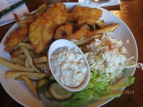 The Thistle Inn Restaurant: fish & chips