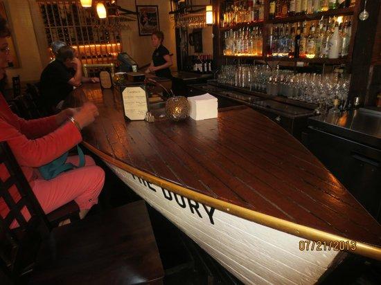 The Thistle Inn Restaurant: bar