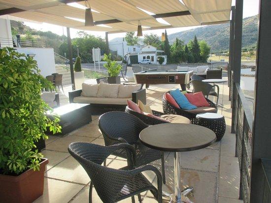 Hotel Mencia Subbetica: área de descanso