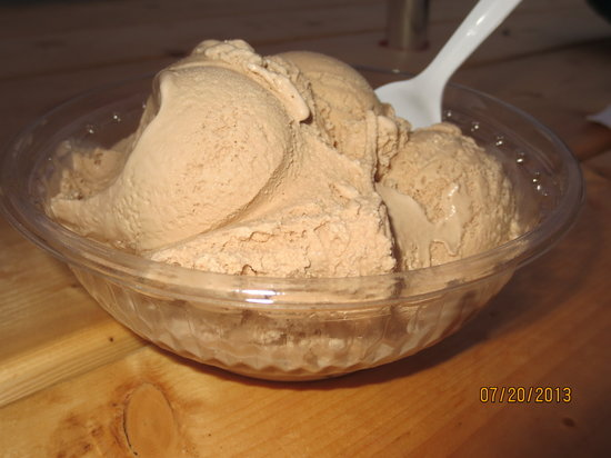 Downeast Ice Cream : Bailey's Island ice cream