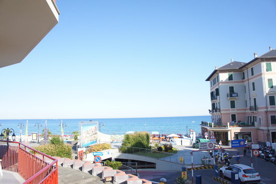 Hotel Europa & Concordia : Sea view