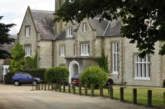 Langrish House : Front Entrance from car park