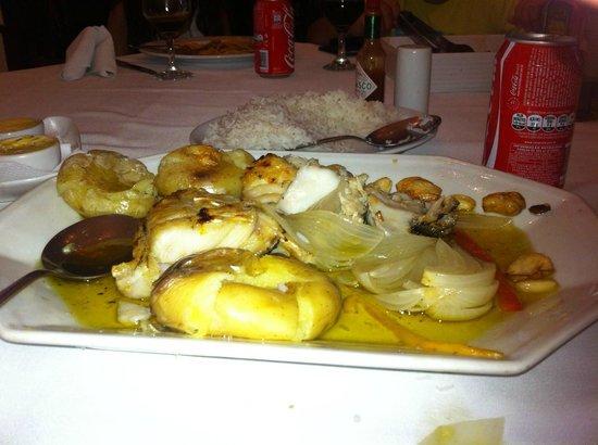 Joao do Bacalhau : Bacalhau ao Lagareiro
