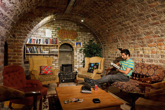 basement reading room at isaacs picture of isaacs hostel dublin