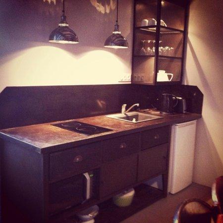 Les Suites du Chateau : Le coin cuisine