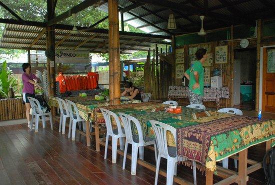 Sumbiling Eco Village: Hall Area