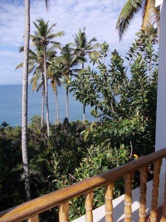 Oceano Cliff: viev from balcony