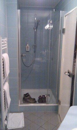 Hotel Helvetia: Baño